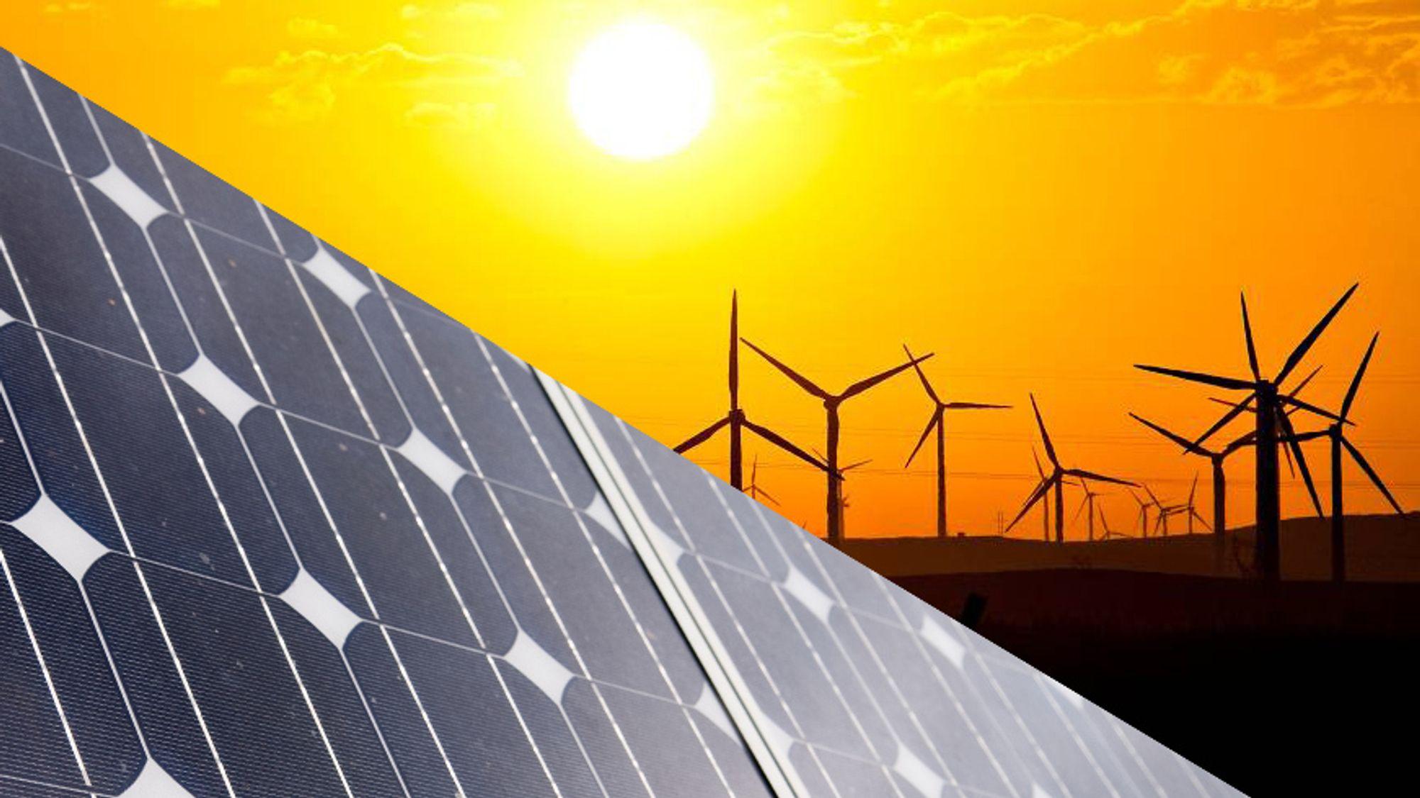 I 2016 ble det bygget 20 GW mer solkraft enn vindkraft.