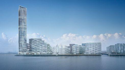 Danmarks høyeste bygning skal bores ned i leire