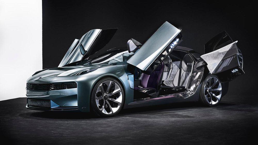 Lynk & co skal friste unge urbane mennesker med en delbar bil basert på Volvo-teknologi. Dette er imidlertid en konseptbil, som vi tviler vil se helt ut som dette når den kommer i salg.