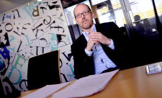 Konsernsjef i Mentor Medier Per Magne Tveiten, som også er styreleder i Vårt Land.