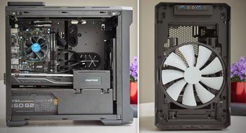 Phanteks Enthoo EVOLV ITX Ett av de minste og billigste kabinettene der ute