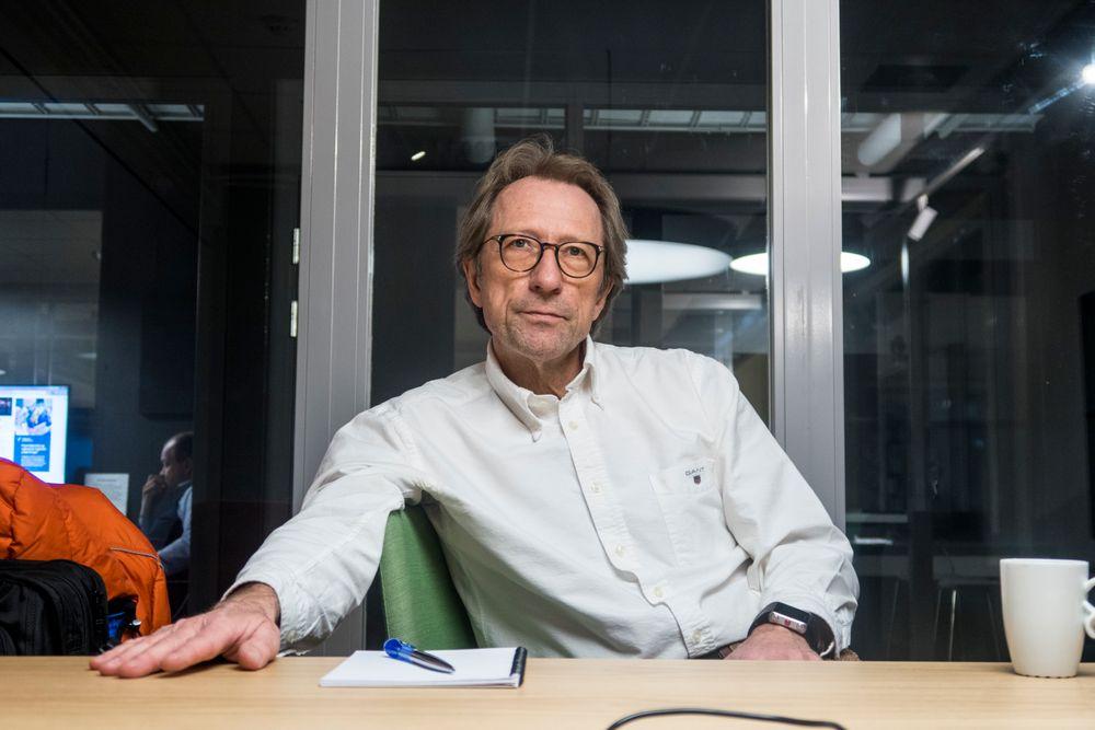 Hallstein Mørk: Han var den eneste nordmann i Nokia og jobbet der som HR-sjef i elleve år