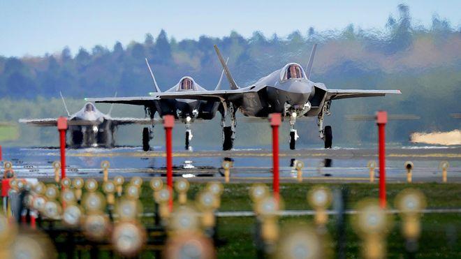 Nå sender USA kampklare F-35 til Europa for første gang