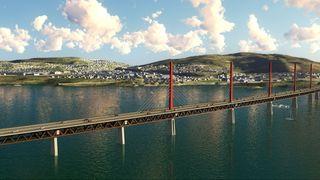 Tungt politisk press fra Innlandet om å bygge ny Mjøsbru i tre