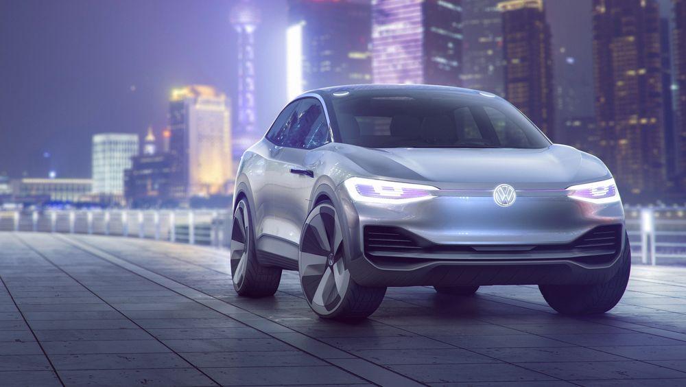 Omtrent slik vil Volkswagens mini-SUV Crozz se ut når den kommer i salg i 2020.