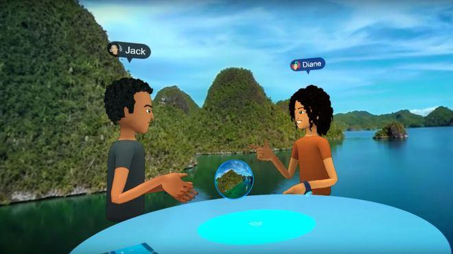 Facebooks VR-alternativ til Messenger bytter ut snakkeboblene med et helt rom