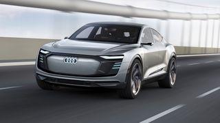 Den kommende Audi E-tron Sportback.