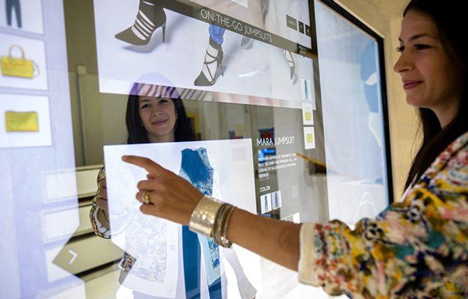 Interaktive løsninger i butikk er på full fart inn på markedet.