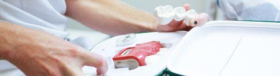 MODERNE UTSTYR: VI holder oss oppdatert med siste nytt innen tannhelse og pleie!
