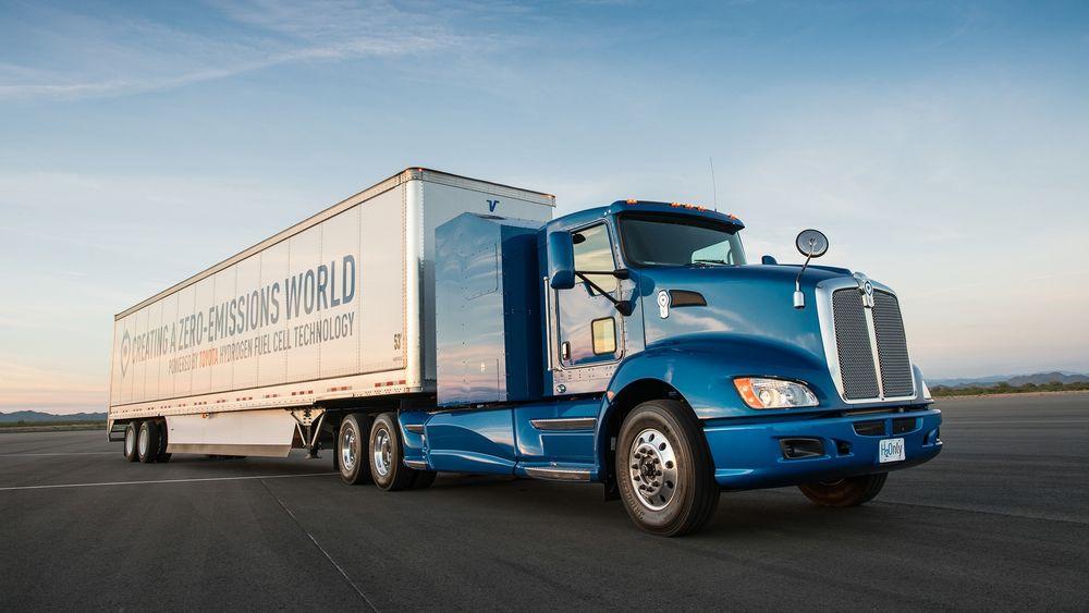 Toyotas Project Portal-testbil skal settes i drift i Los Angeles havn i sommer.