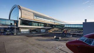 I dag åpner det som trolig er verdens mest klimavennlige flyplassterminal