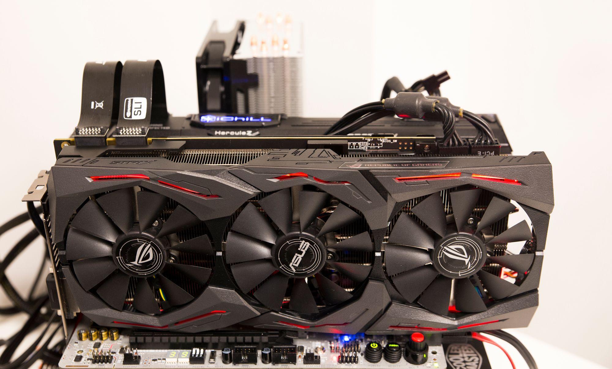 15f93c40 Vi tester Asus GTX 1080 Ti Strix OC sammen med vår testvinner fra Inno3D,  iChill
