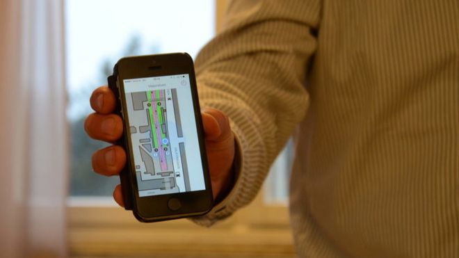 Beacon-teknologi skal hjelpe blinde å finne frem i store bygninger og kronglete t-banestasjoner