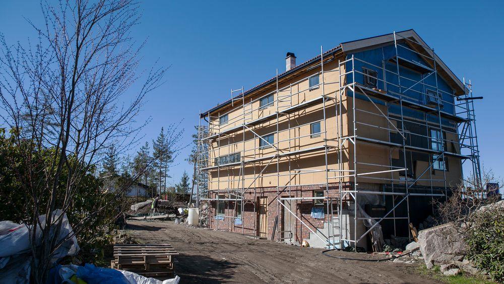Til tross for at huset ser ut som et helt alminnelig murhus, er det mye som skiller det nye bolighuset på Nesodden fra konvensjonelle boliger.