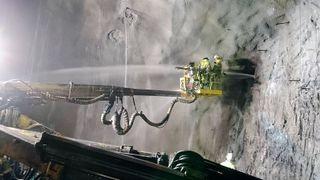 På det verste fosset 3000 liter med vann i minuttet inn i tunnelen