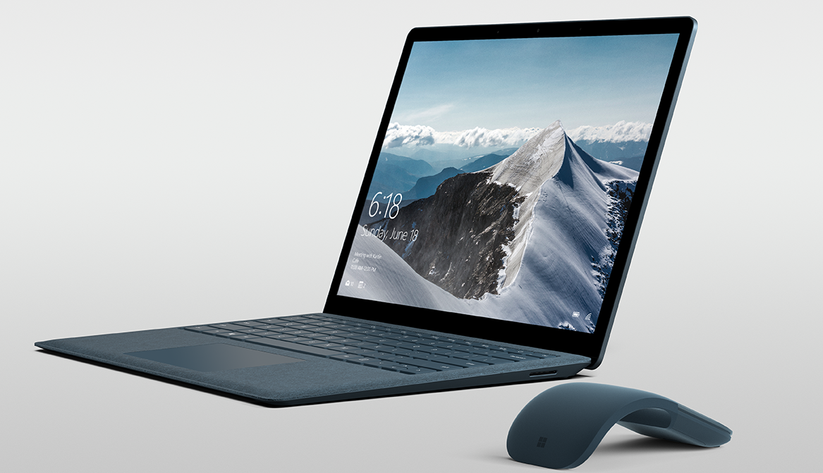 Microsofts nyeste Surface-enhet, Surface Laptop, er beregnet for studenter. Den leveres med Windows 10 S, men skal være fullt kapabel til å kjøre Windows 10 Pro.