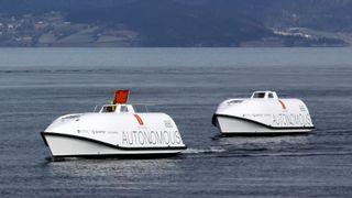 Her er Kongsbergs to nyeste autonome båter
