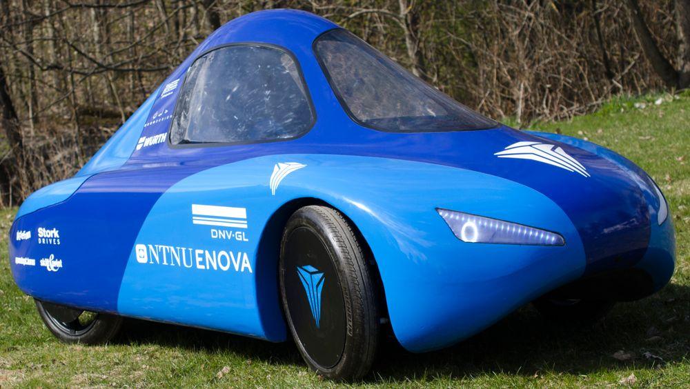 Bilen skal ha lavere luftmotstand enn en Tesla, og den er ekstremt drivstoffgjerrig.