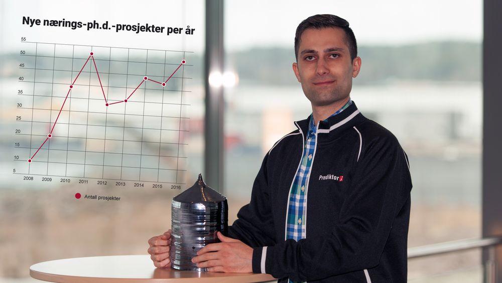 Parsa Rahmanpour har utviklet teknologi som kan gjøre det rimeligere å lage silisium til solcellepaneler.
