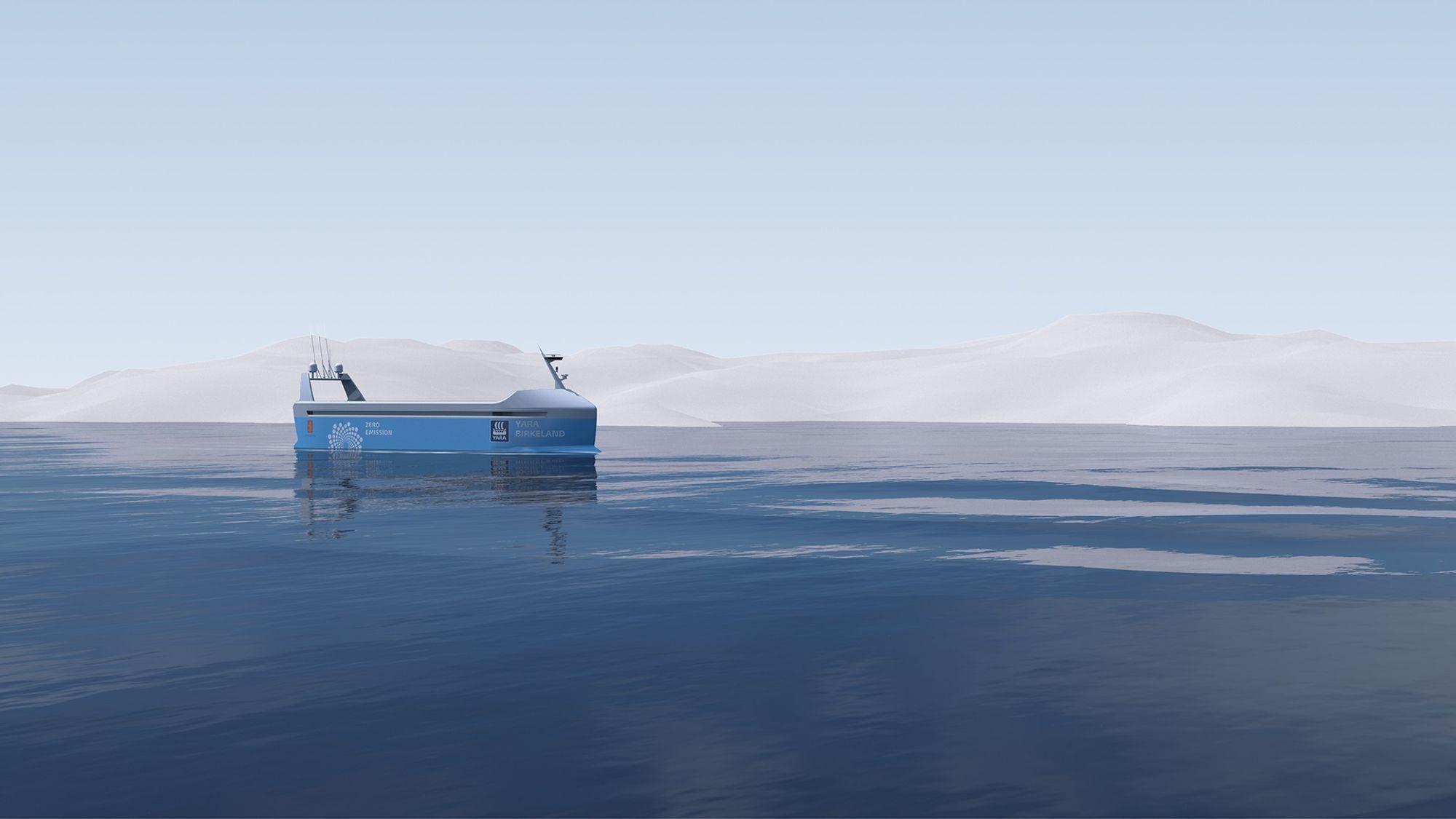 I farvannet mellom Herøya og Brevik-Larvik er det mye skipstrafikk og mange småbåter i sommerhalvåret. Det blir en tøff test for autonomisystemer.