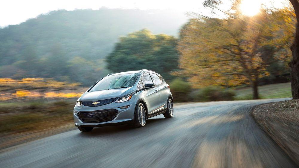 Chevrolet Bolt er søstermodellen til Opel Ampera-e.