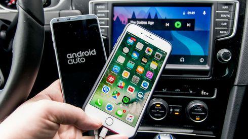 Hvor gode er mobilene i bilen?
