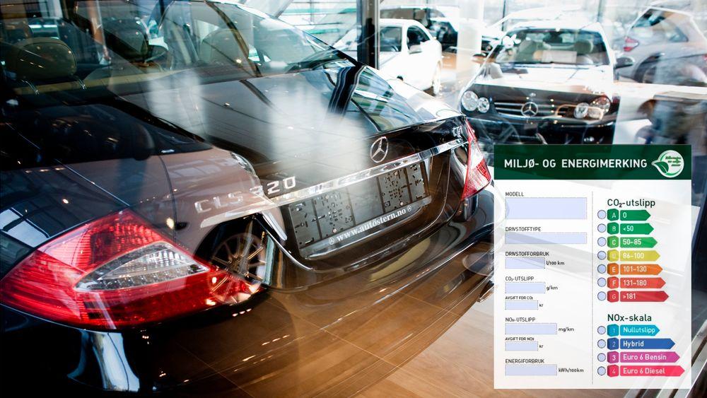 Den nye merkingen skal likner den som brukes på både boliger og elektronikk, og skal gjøre det enklere for forbrukere å velge bil utfra miljøegenskaper.
