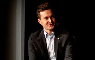 Hans Christian Kaurin Hansson, her under Svarte Natta-konferansen i 2015.