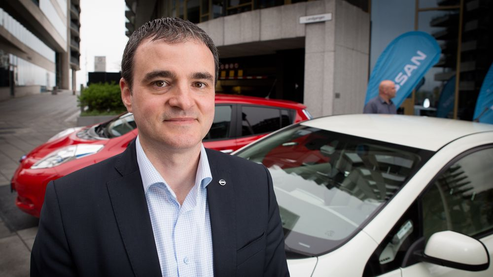 Pierril Pouret, EV director i Nissan Nordic Europe.