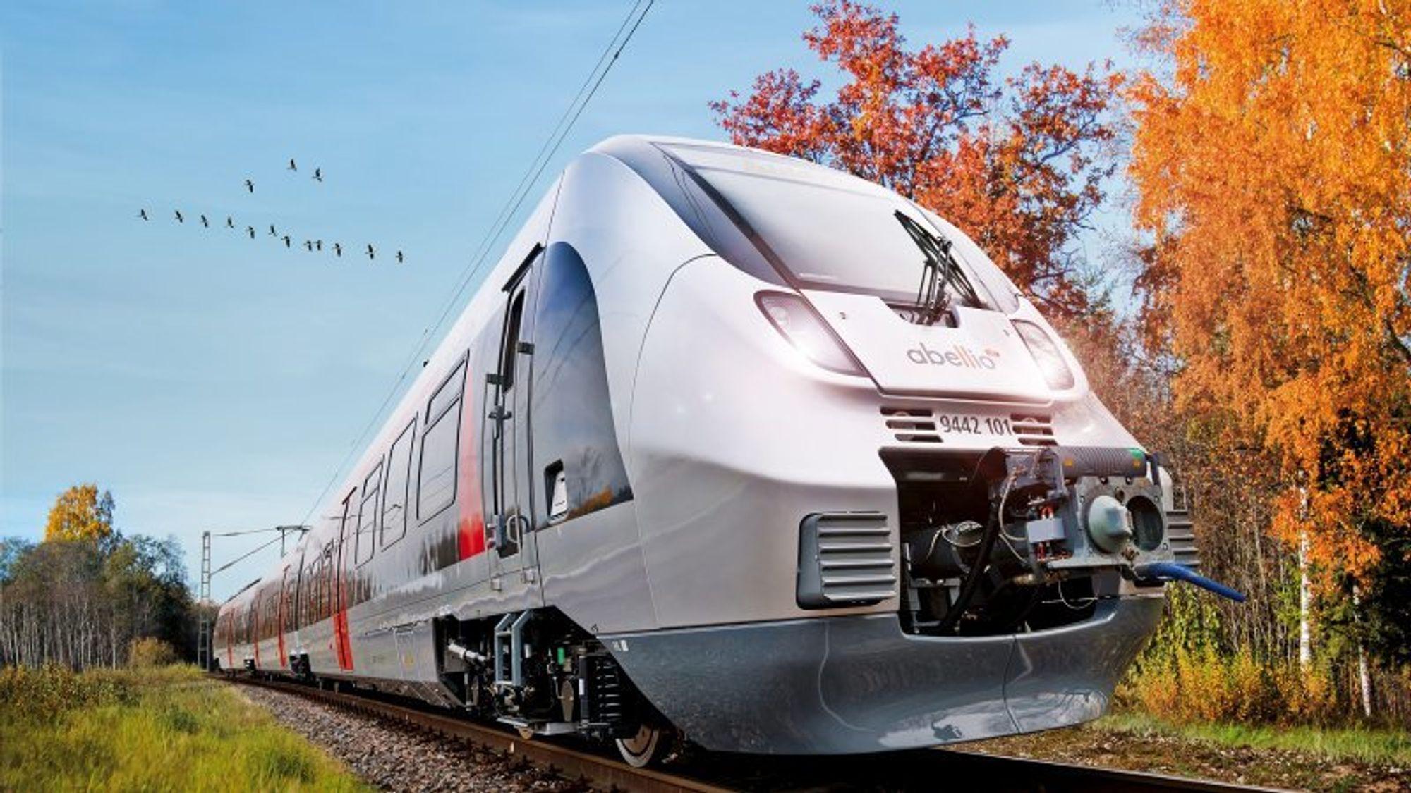 Nyeste skudd på togstammen til Bombardier er virksomhetens tredje utgave av Talent-modellen, som leveres i en ren batteriutgave med en topphastighet på 200 km/t og en rekkevidde på opptil 300 kilometer.