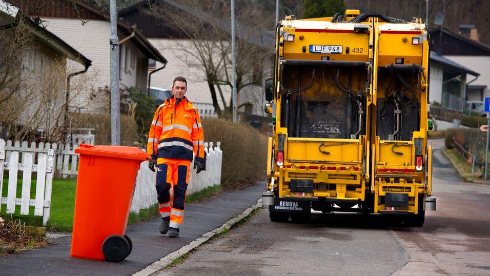 søppelbil til salgs sverige