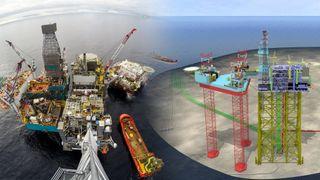 To oljefelt godkjent med tre kvarters mellomrom: Det ene går som ei klokke i Nordsjøen. Det andre sliter i Korea