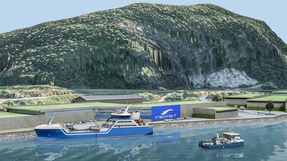 Nekst AS har tatt mål av seg til å produsere 20 millioner fisk i året eller ca. 20 000 tonn ved landanlegget på Botnastranda i Flora kommune.