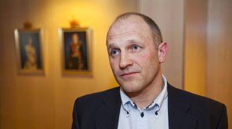 Tore Larsen Orderløkken, portrett.