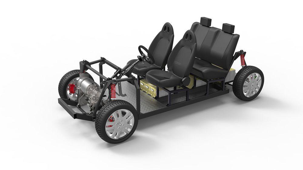 Tabby Evo 4 er en åpen plattform for elbiler.