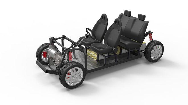 Her er «gjør det selv»-elbilen