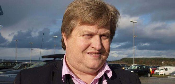 Einar Endresen, lokallagsleder Haugaland og Sunnhordland