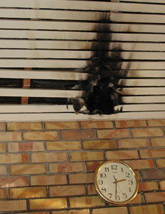 Brann på politihogskolen