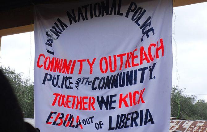 Liberia Ebola-banner