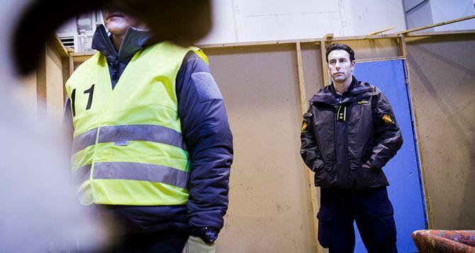 Morten Skaarnes (til høyre) er kursleder for livvaktutdanninga, der kvalitet gjelder foran kvantitet. Kandidat nummer 11 er blant de som søker nye utfordringer.