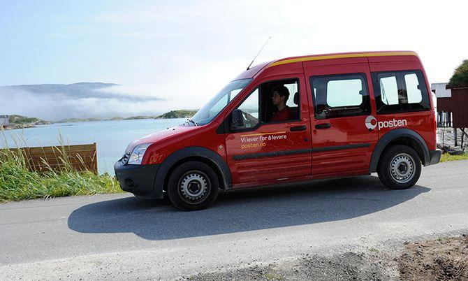 Postbilene eies ikke av posten. Det gjør at de kan byttes ut ofte.