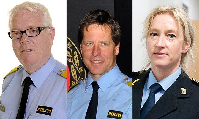 Geir Gudmundsen, Gunnar Fløystad og Sidsel Isachsen.