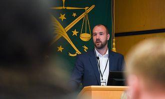 Erik Barstad Wilmann, nestleder i OPF.