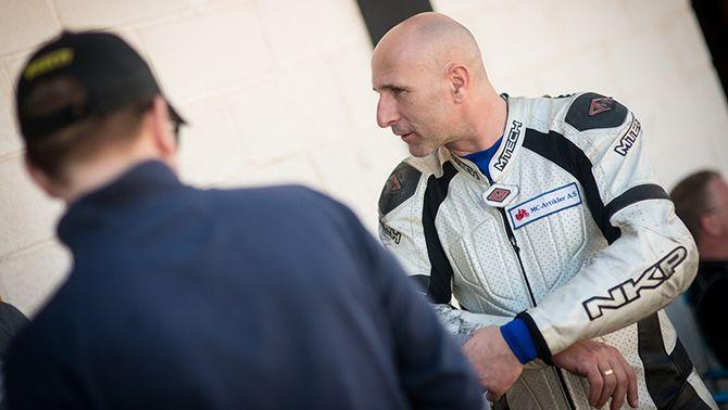 Truls Hjortnæs på treningsleir i Cartagena. Neste år vil han kjøre alle NM-runder.