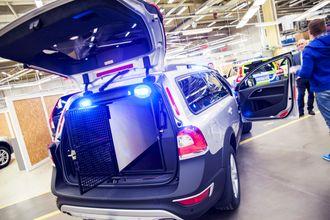 Hundebil. Volvo XC70 kan være tilbake – i hvert fall som hundebil. Den bygges nemlig ferdig ved fabrikken i Göteborg.