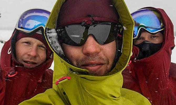 Vegard Jørstad, Ronny André Kjenstad og Ole Christian Kjenstad er på vei mot verdensrekord.