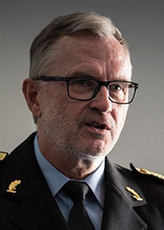 Blir sittende: Hans Sverre Sjøvold.