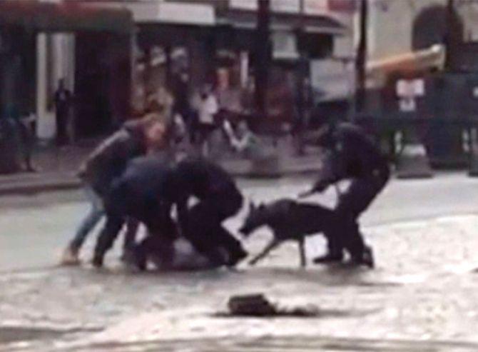 Video fra hendelsen, gjengitt med tilatelse fra VG.