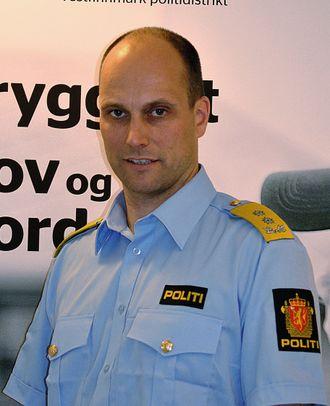 Torbjørn Aas, tidligere politimester i Vest-Finnmark.