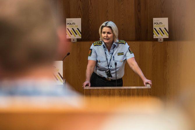 Grete Lien Metlid, leder for Vold- og seksualforbrytelser ved Oslo politidistrikt.